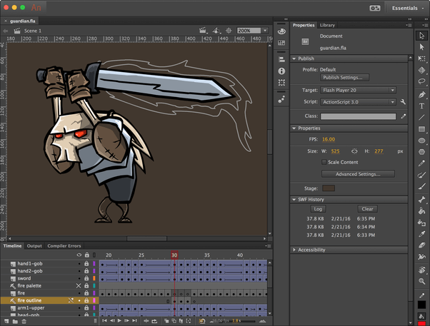 Adobe Animate Character Animation