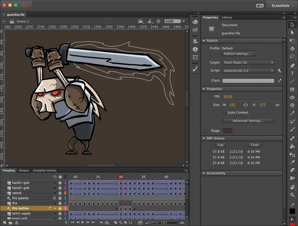 Adobe Animate Character Animation