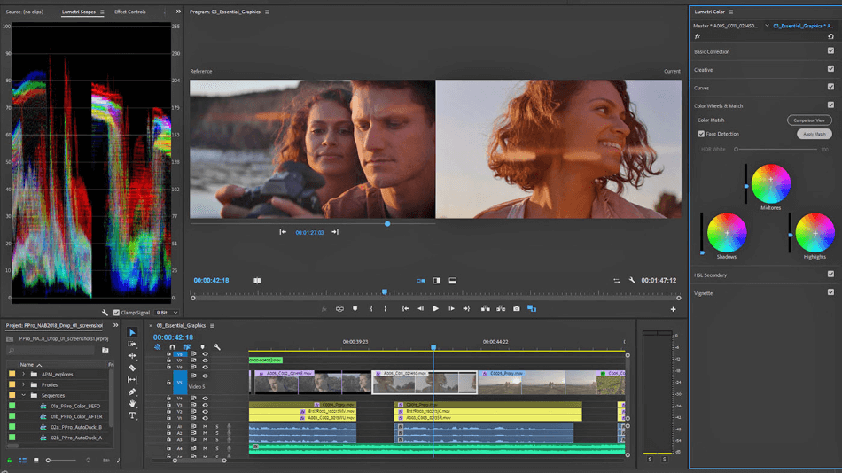 Adobe Premiere Pro Color Correction