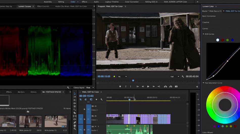 Adobe Premiere Pro lumetri color color correction