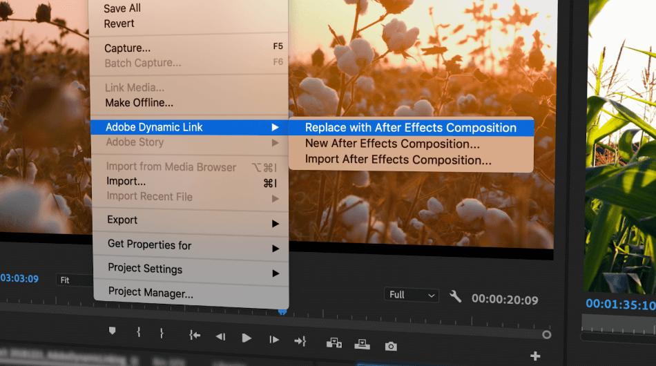 Adobe Premiere Pro text