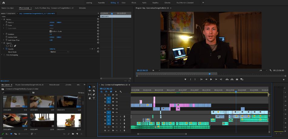 Adobe Premiere Pro Workflow