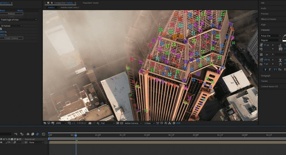 After Effects Camera Tracker Tool