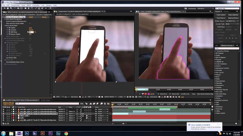 After Effects Rotoscoping Tool