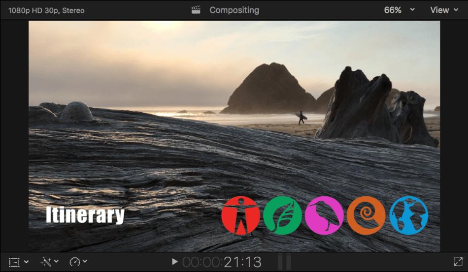 Final Cut Pro Advance Compositing