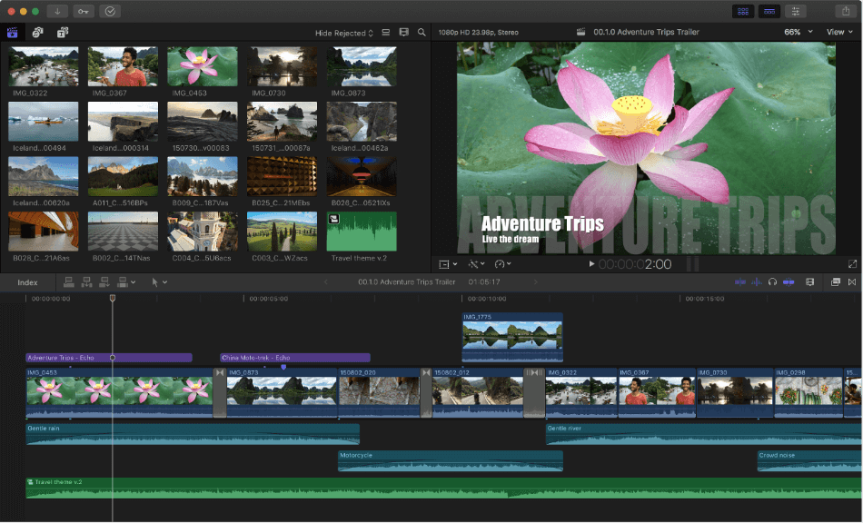 Final Cut Pro Text