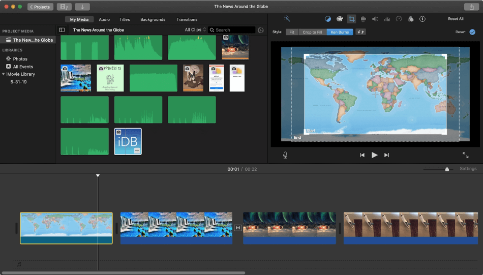 Imovie Ease of Use