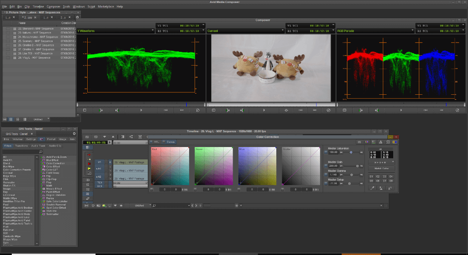 Avid Media Composer Color Correction