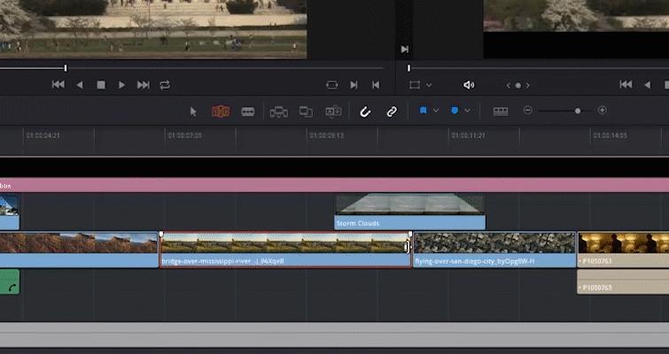 DaVinci Trim Edit Tool