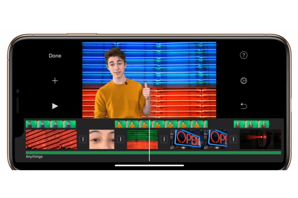iMovie Usage Mobile