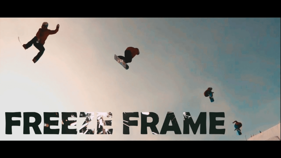 Filmora Freeze Frame Effect