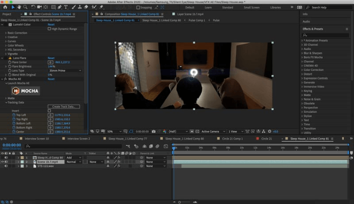 After Effects Color Correction