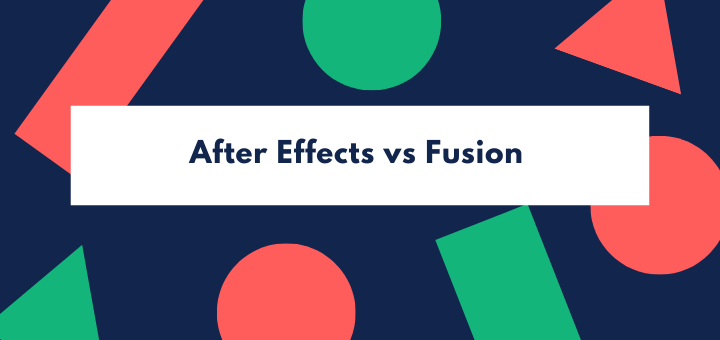 After Effects vs Fusion