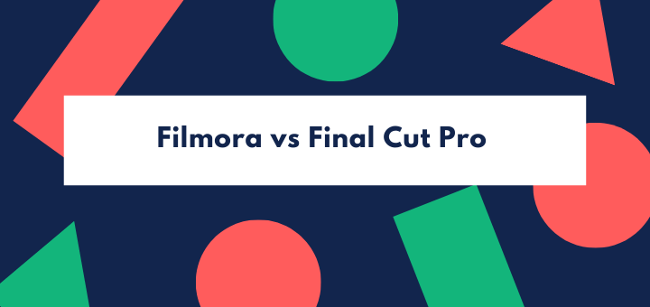 Filmora vs Final Cut Pro