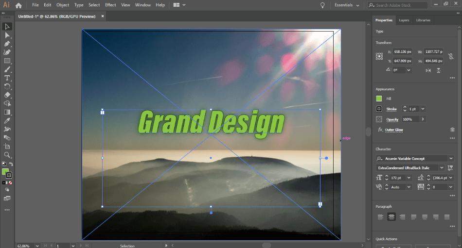 Adobe Illustrator Fonts
