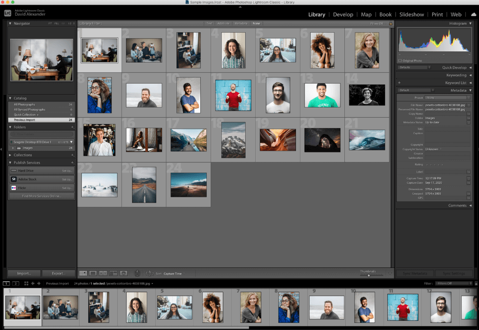 Adobe Lightroom Ease Of Use