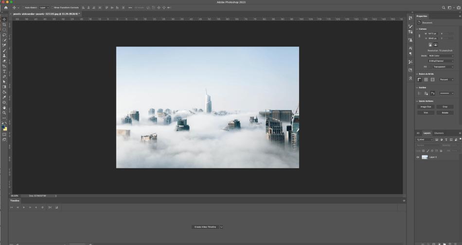 Adobe Photoshop Advanced Image Manipulation