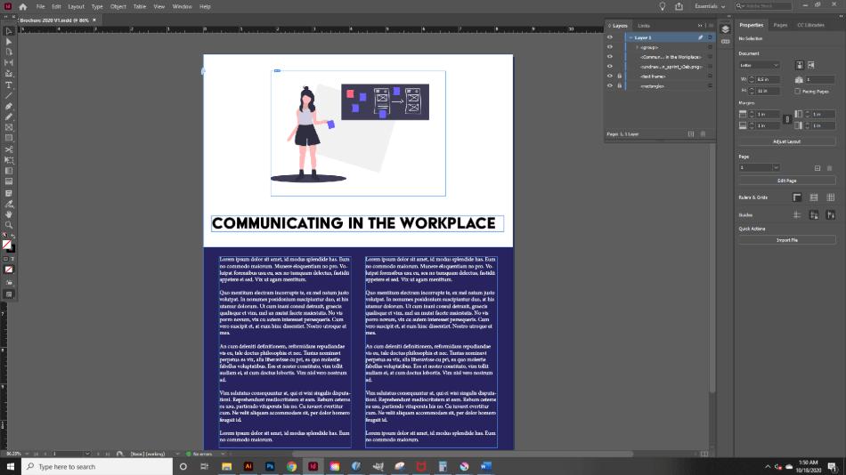 Adobe InDesign Features