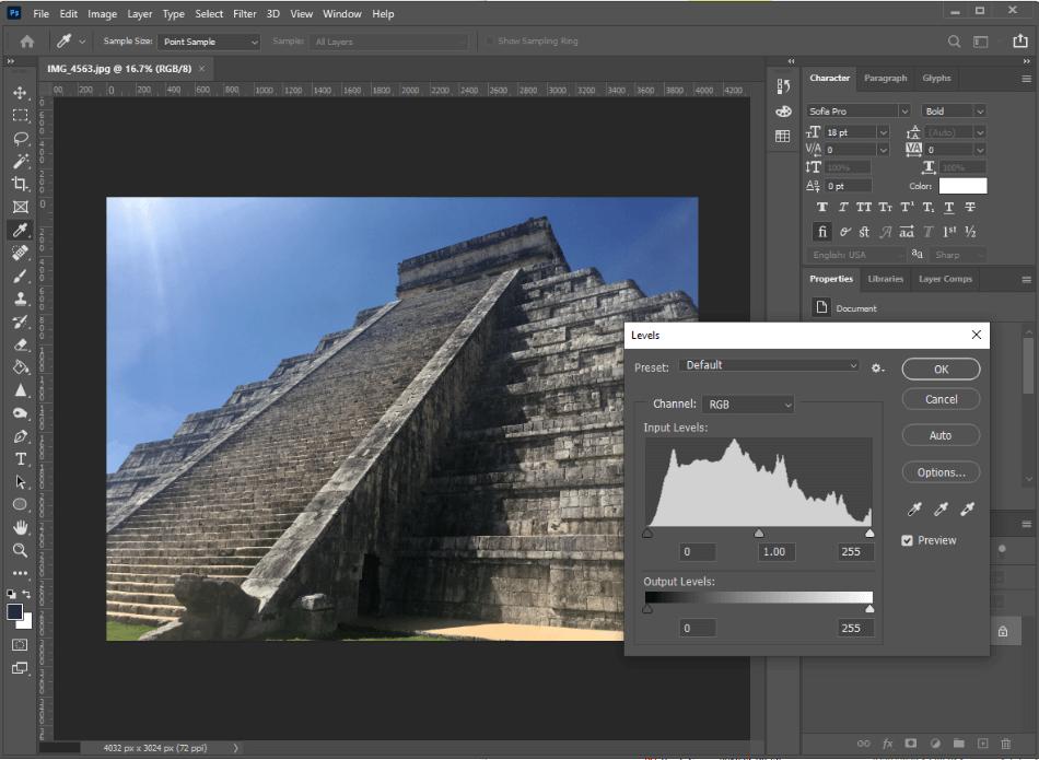 Adobe Photosho Photo Editing
