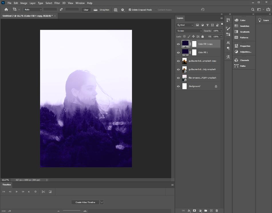 Adobe Photoshop Color Scales