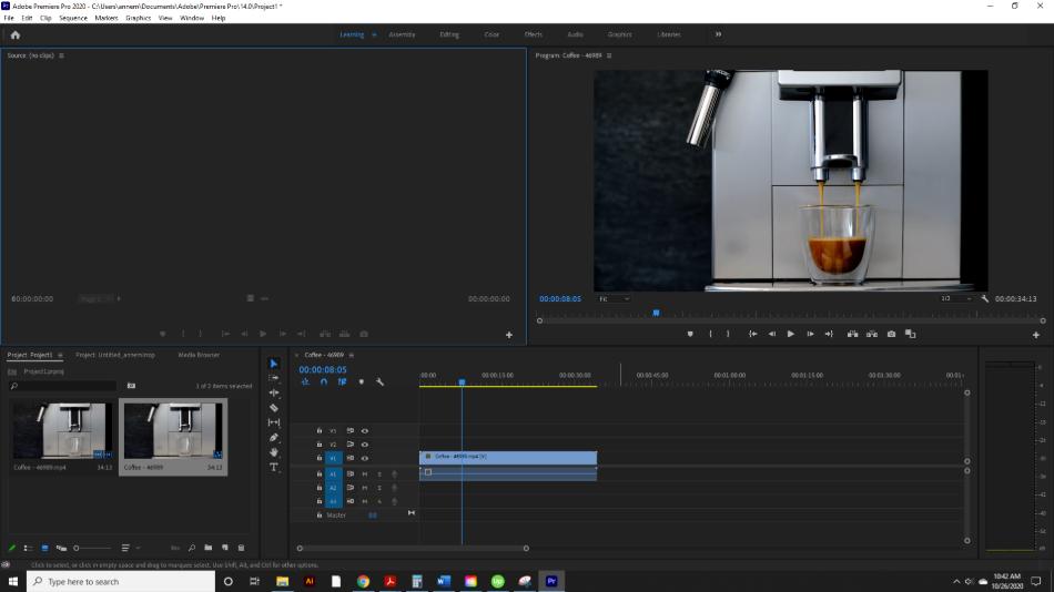 Adobe Premiere Pro Stock Video and Audio