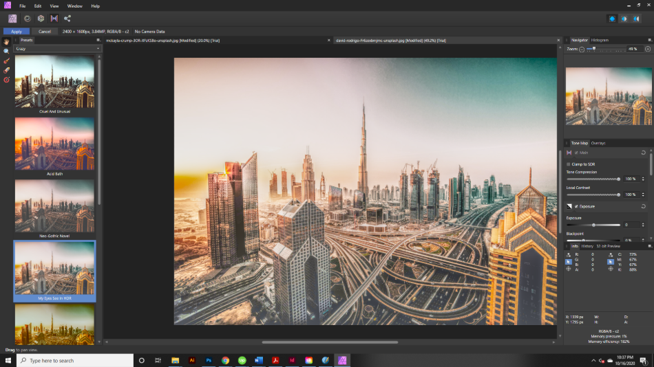 Affinity Photo Features