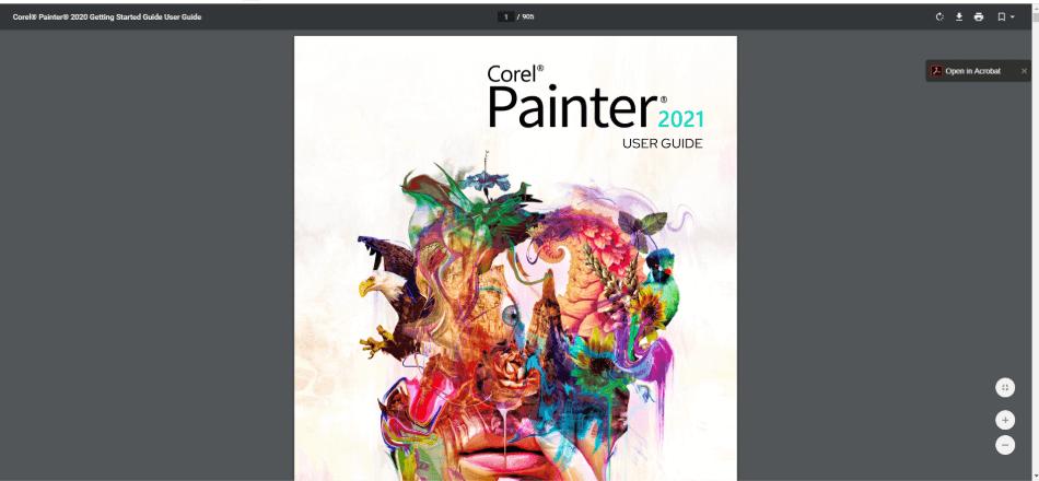 Corel Painter User Guide 2021