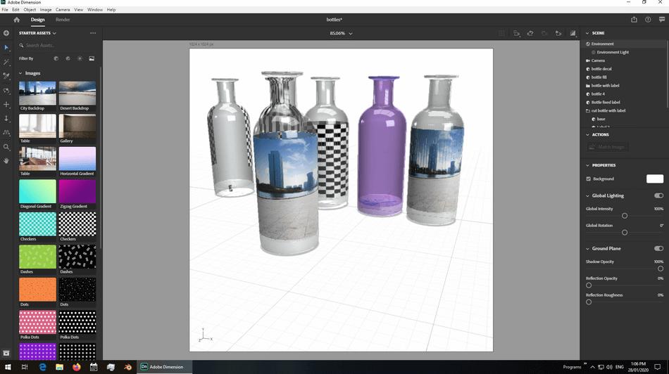 Adobe Dimension Design