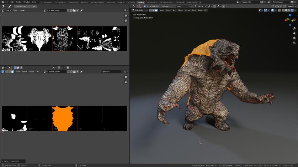 Blender Editing