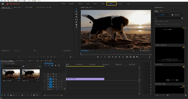 How to Edit Text in Adobe Premiere Pro 2