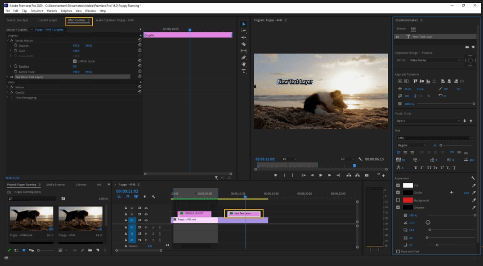 How to Edit Text in Adobe Premiere Pro 31