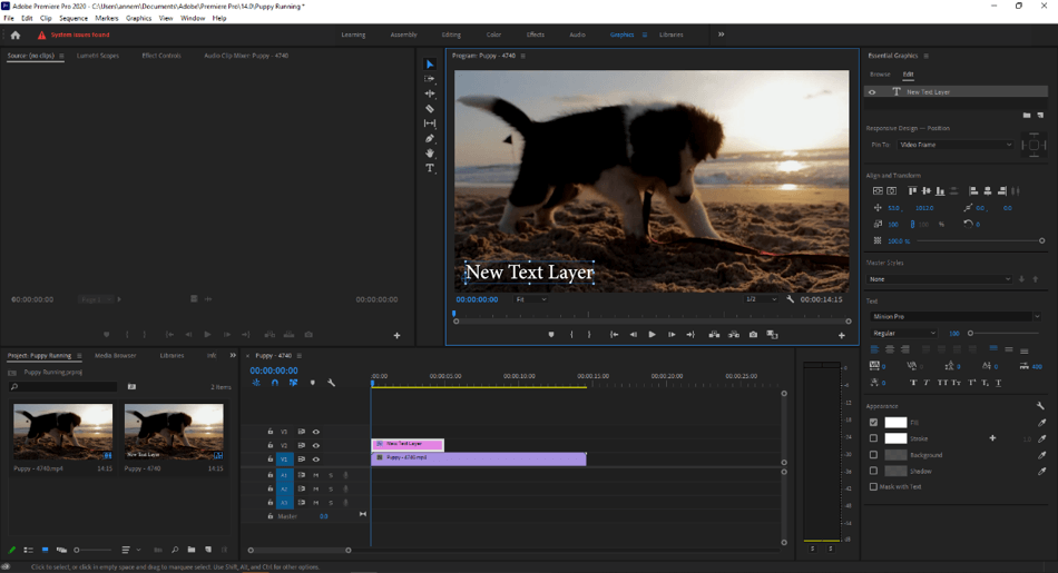 How to Edit Text in Adobe Premiere Pro 5