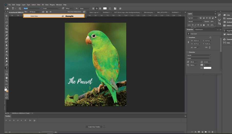 How to Add Import Fonts to Photoshop 5
