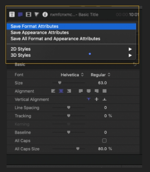 How to Add Text in Final Cut Pro 5