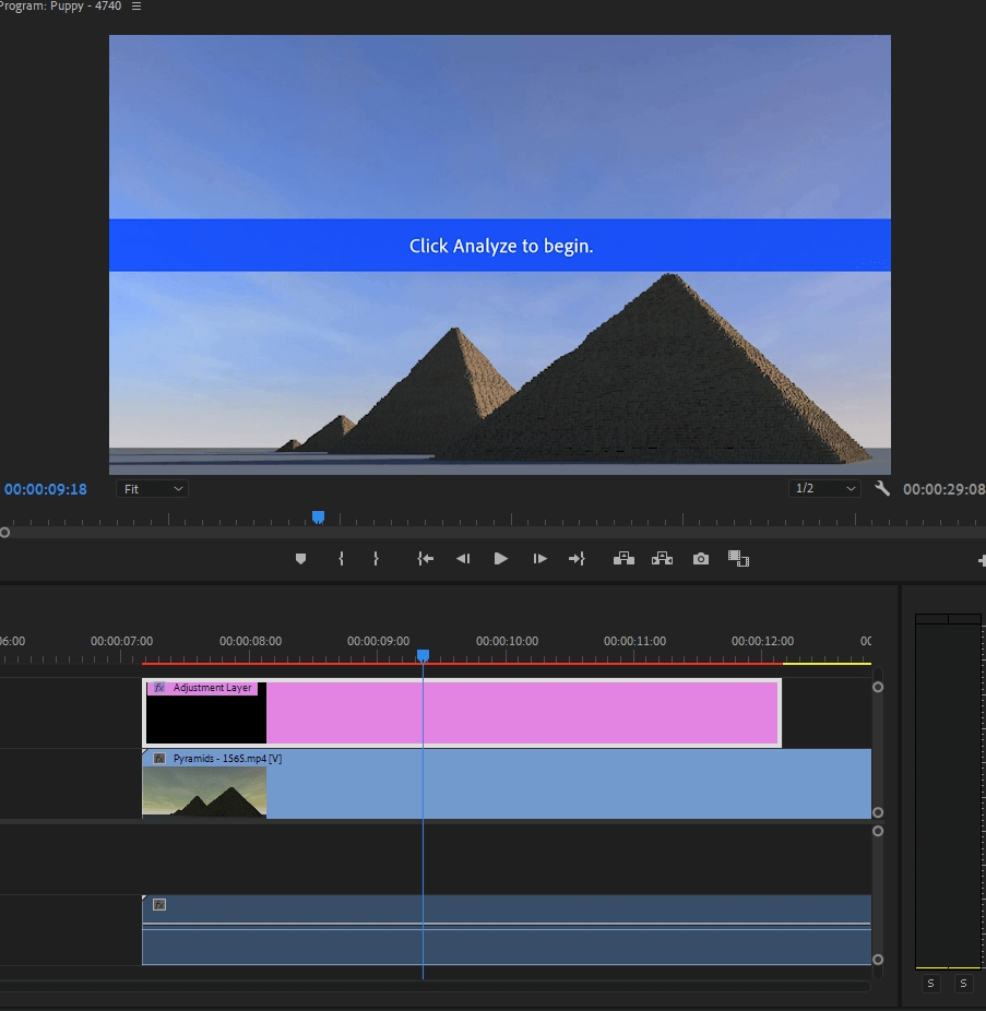 How to Add an Adjustment Layer in Adobe Premiere Pro 15