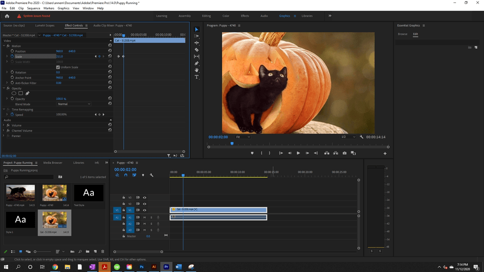 How to Create a Zoom In Effect in Adobe Premiere Pro 14