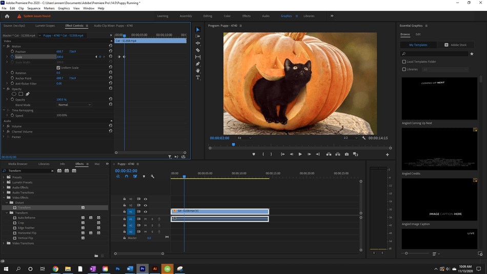 How to Create a Zoom In Effect in Adobe Premiere Pro 8