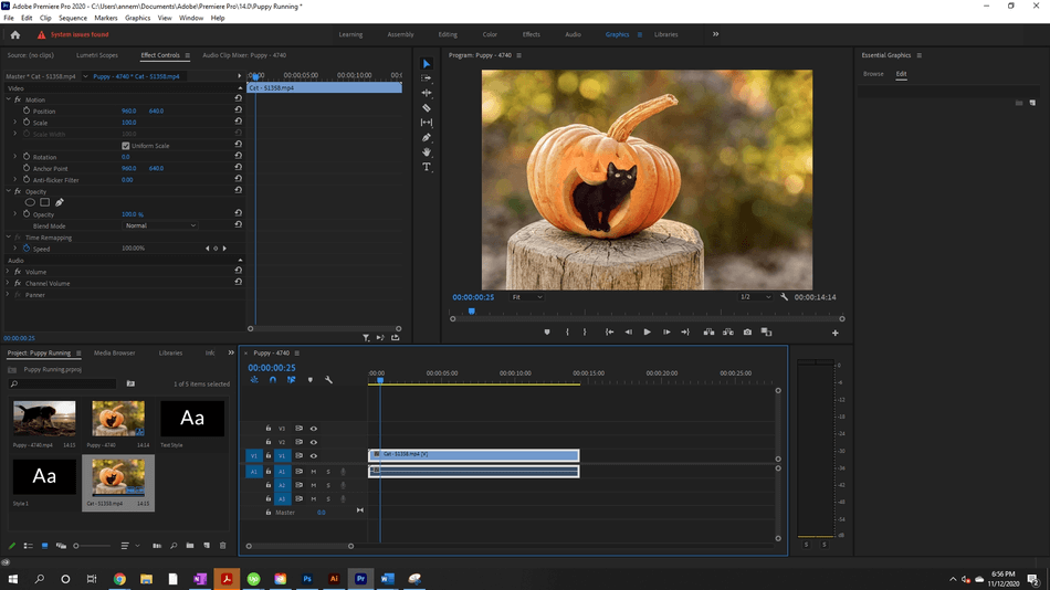How to Create a Zoom In Effect in Adobe Premiere Pro 9