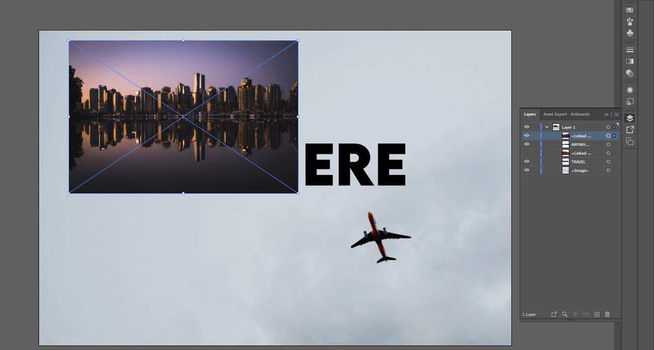 How to Crop an Image in Illustrator 25