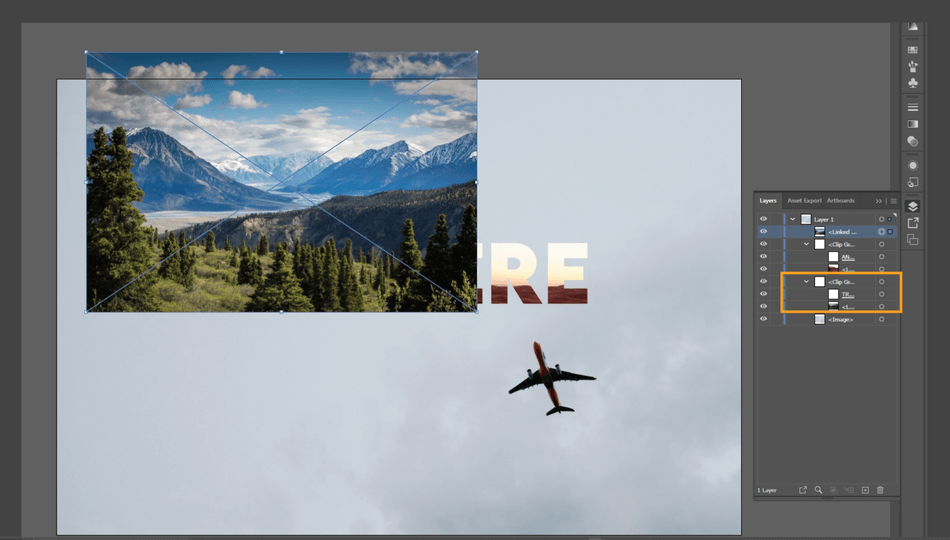 How to Crop an Image in Illustrator 29