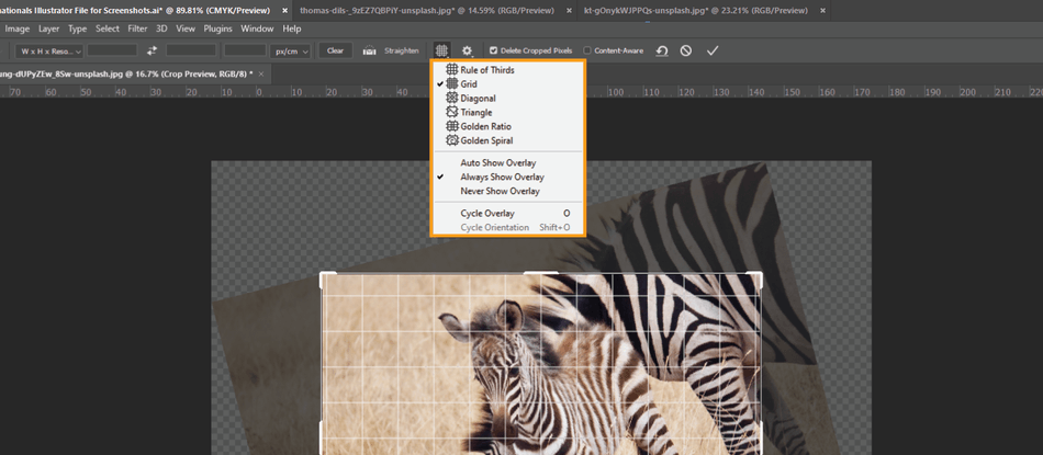 How to Crop in Photoshop 14