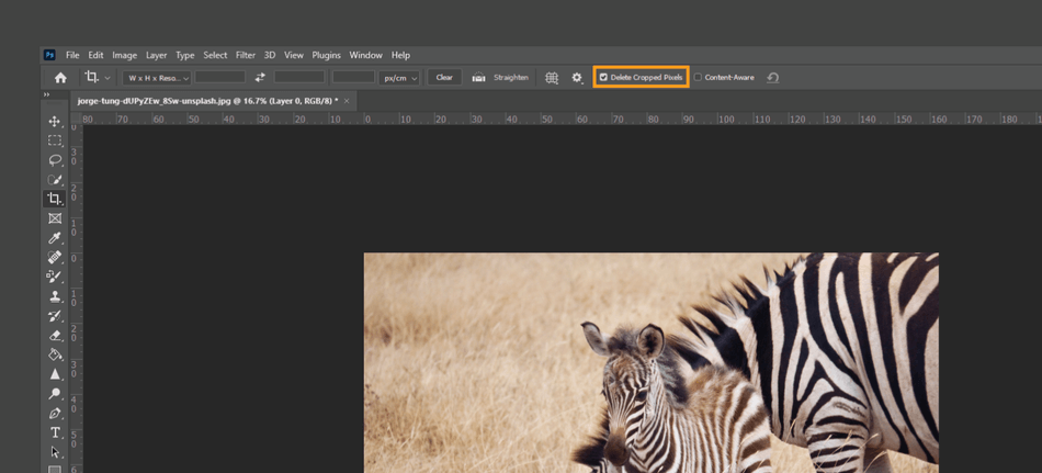 How to Crop in Photoshop 16