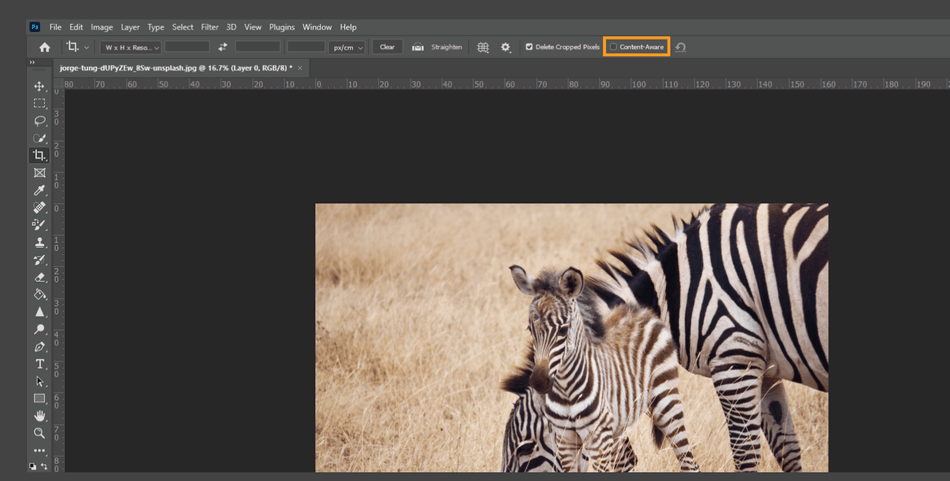 How to Crop in Photoshop 17