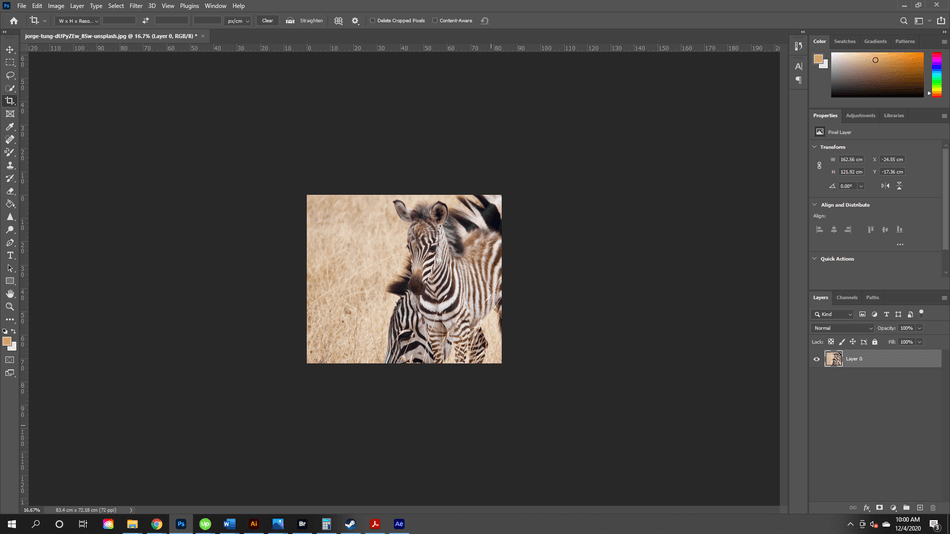 How to Crop in Photoshop 18