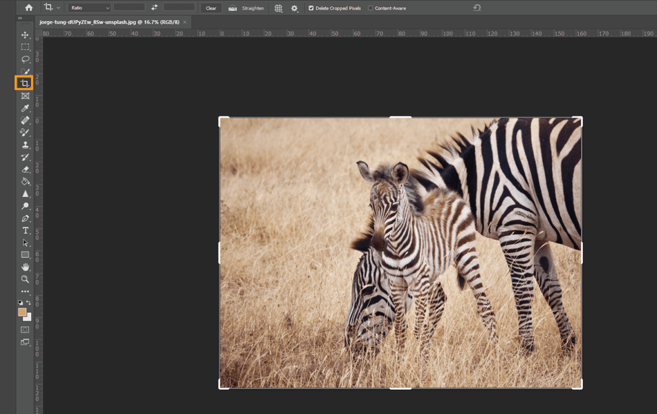 How to Crop in Photoshop 2