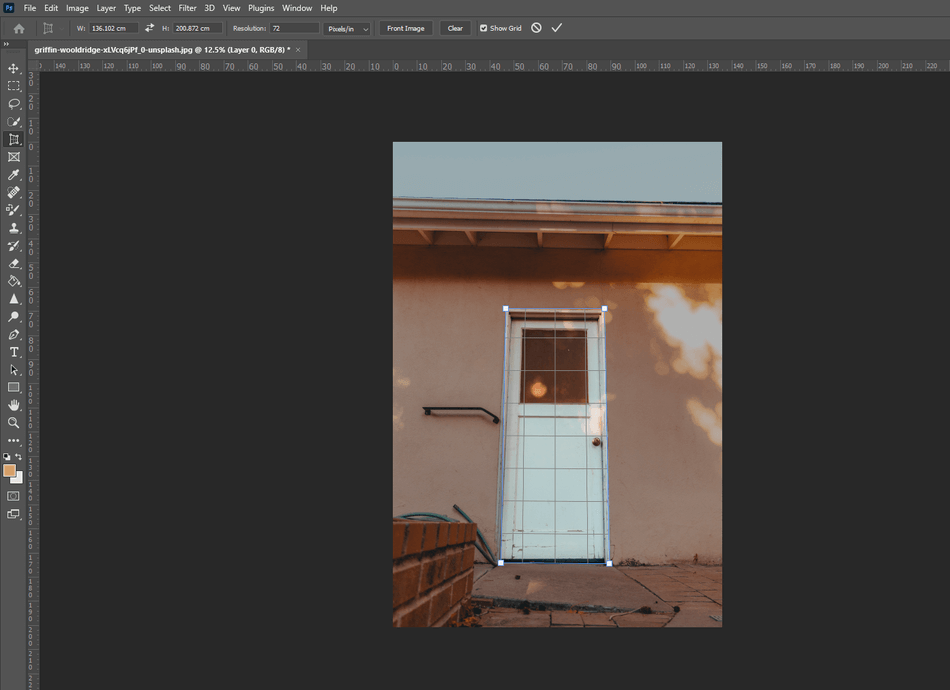 How to Crop in Photoshop 20