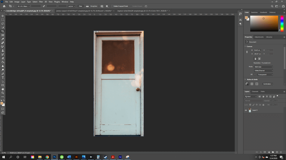 How to Crop in Photoshop 21
