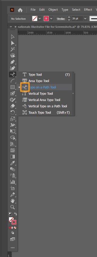 How to Curve Text in Illustrator 19
