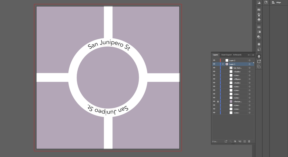 How to Curve Text in Illustrator 26