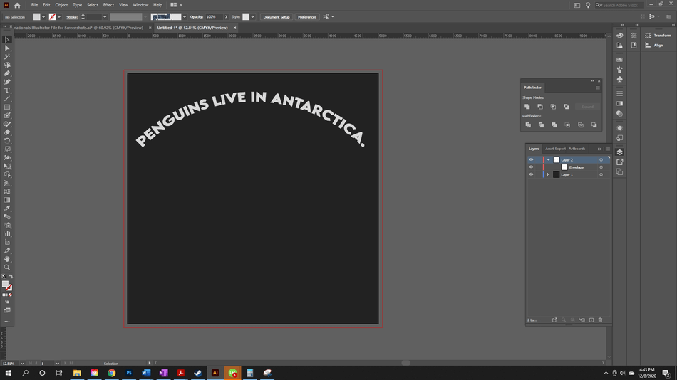 How to Curve Text in Illustrator 4